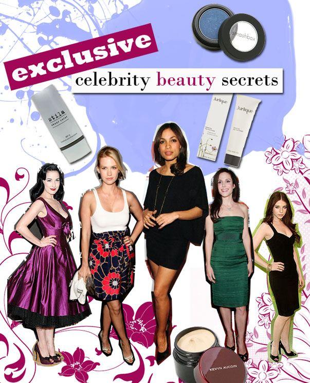Exclusive Celebrity Beauty Secrets! post image
