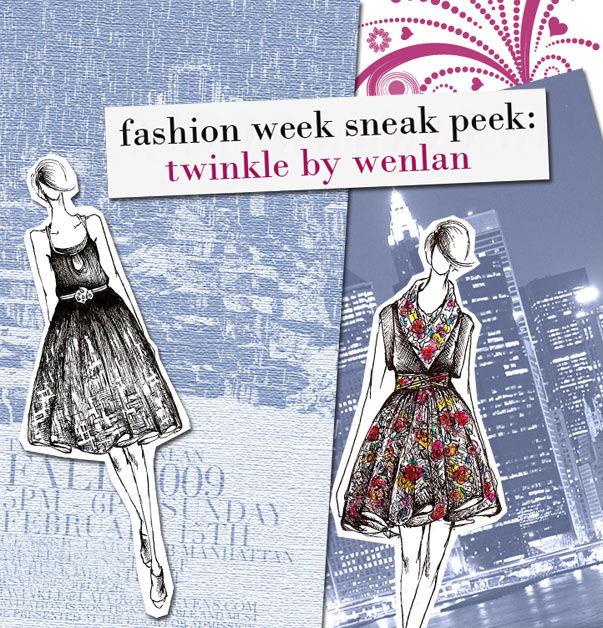 Fashion Week Sneak Peek: Twinkle by Wenlan post image