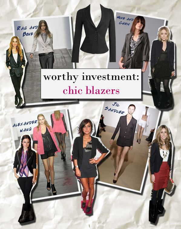 A Worthy Investment: Chic Blazers post image