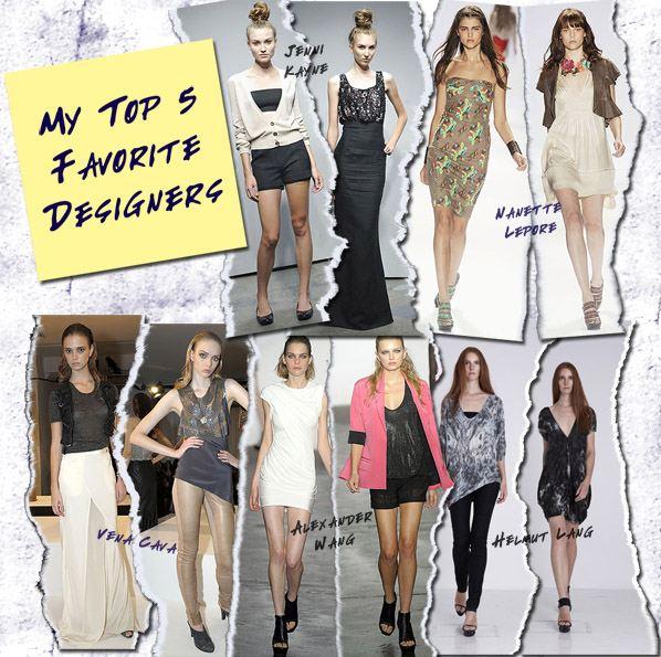 My 5 Favorite Designers post image