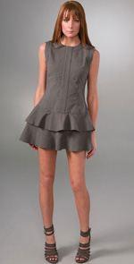 geren-ford, Geren Ford, Dress, Fashion, Style, Trend, Ruffle Dress, Ruffled Dress, mini dress