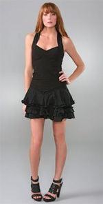 lamb, dress, ruffle dress, fashion, style