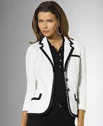 lauren-ralph-lauren, Lauren by ralph lauren, blazer, piped blazer, chic blazer, fashion, style