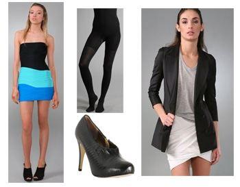 lindsay-look-1-collage, Lindsay Lohan, Fashion, Style, Lindsay Lohan Style, Alexander Wang, Spanx, Cynthia Vincent