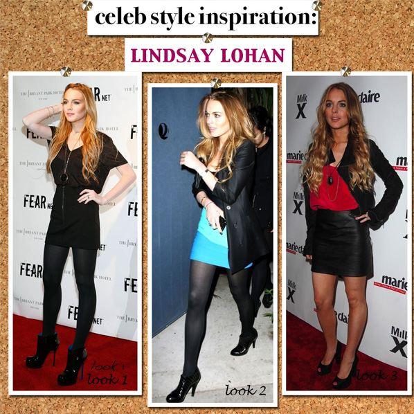 Celebrity Style Inspiration: Lindsay Lohan post image
