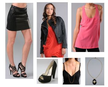 look-3-collage2, Lindsay Lohan, Lindsay Lohan Style, Alexander wang, Rag & Bone, Velvet Angels, Elizabeth and James, Rachel Leigh, AK Vintage, Fashion, Style