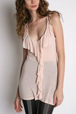 silence-and-noise1, Silence & Noise, Tank, Tunic, Ruffled tank, fashion, style, trend