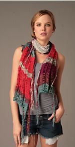 free-people2, scarf, free people, lightweight scarf, fashion