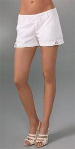 johnson, shorts, white shorts, Johnson Milicent shorts, fashion