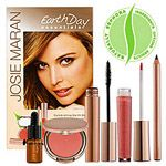 josie-maran, Josie Maran, Josie Maran Earth Day Essentials kit, Beauty, Makeup, eco friendly, Mascara, lip gloss, blush, eye liner, cosmetics