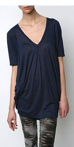 silence-2, silence & noise, tunic, top, slouchy tunic, fashion, style