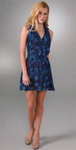 yaya, yaya aflalo, dress, printed dress, fashion