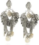 erickson1, Erickson Beamon, Earrings, Zac posen runway, erickson beamon for zac posen, statement earrings, jewelry, accessories
