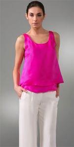 jenni, jenni kayne, tank, pink tank, fashion, style