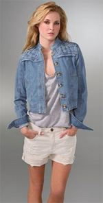 mike-and-chris, Mike & Chris, denim jacket, jacket, jean jacket, fashion, style, trend