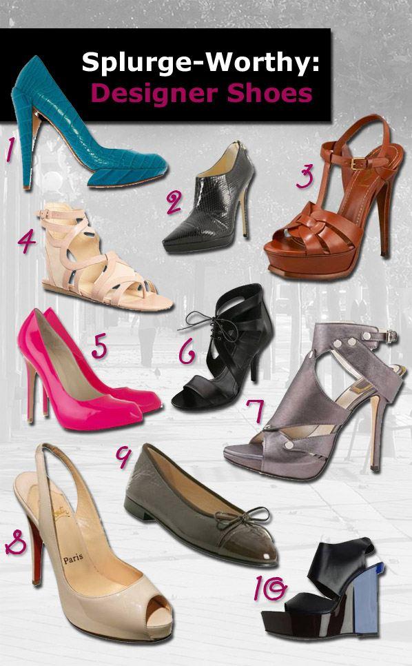 Splurge-Worthy: Designer Shoes post image
