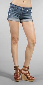 Seven, 7 for all mankind, shorts, denim shorts, cutoffs, denim cutoffs, fashion