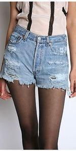 Urban renewal, shorts, denim shorts, cutoffs, fashion