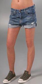 current, current/elliott, shorts, denim short, cutoff, fashion