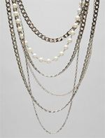 Body- lisa freede, lisa Freede, necklace, mixed chain necklace, jewelry