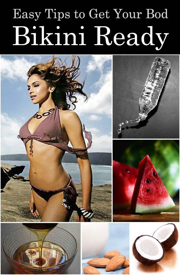 Easy Tips to Get Your Body Bikini-Ready post image