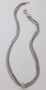 body- giles, giles and brother, necklace, giles & brother, multi chain necklace, jewelry