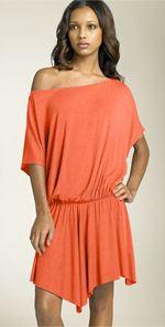 pally, Rachel Pally, dress, off the shoulder dress, orange dress