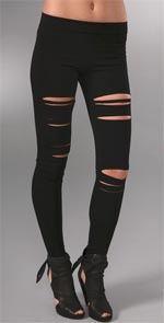 pencey, leggings, slashed leggings, lindsay Lohan