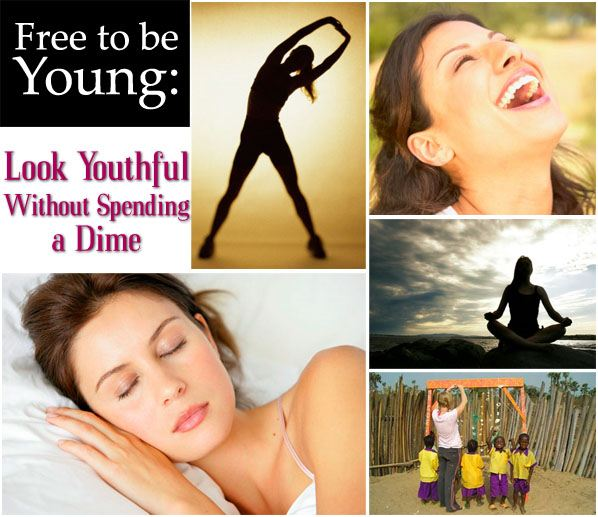 Free To Be Young: Look Youthful Without Speding A Dime post image