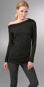 vince, top, fashion, style, trend, off the shoulder