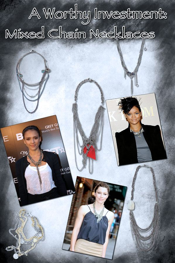 A Worthy Investment: Mixed Chain Necklaces post image