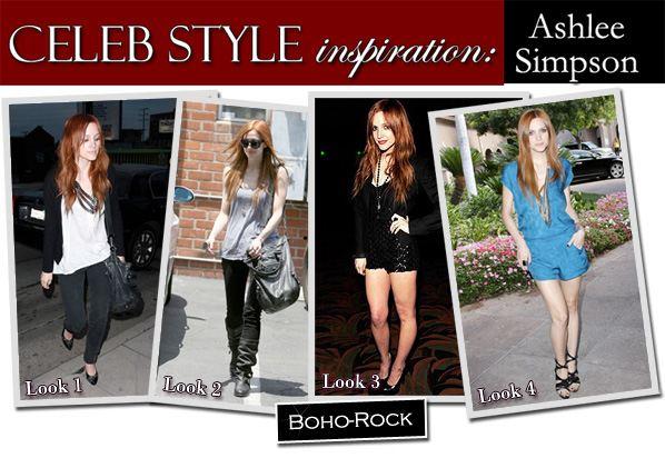Celeb Style Inspiration: Ashlee Simpson post image
