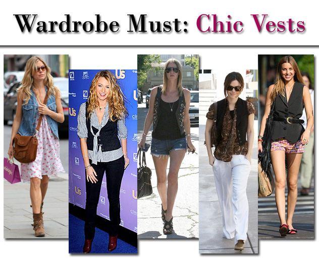Wardrobe Must: Chic Vests post image