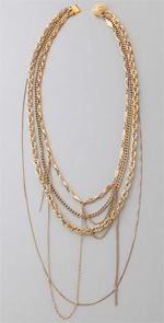 dirty, dirty librarian chains, necklace, jewelry, trend, mixed chain necklace
