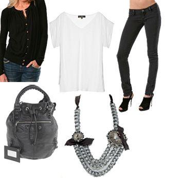 look 1 collage, fashion, style, ashlee simpson, marc by marc jacobs, Lanvin, Ksubi, Balenciaga, Kain