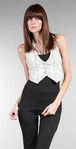 mink pink, vest, cropped vest, fashion, style