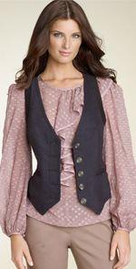trina turk, vest, fashion, style