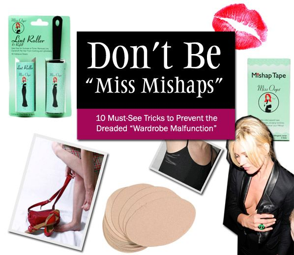 Don't Be 'Miss Mishaps' post image