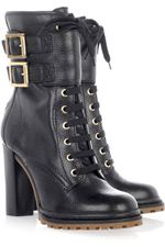 Tory Burch, shoes, boots, lace up boots