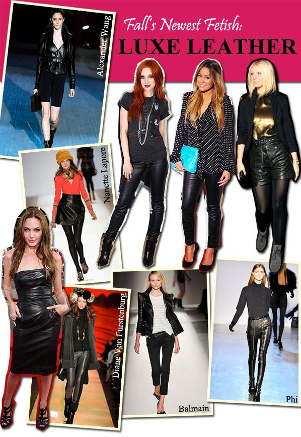 Fall's Newest Fetish: Luxe Leather post image