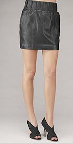 seven, skirt, leather skirt, fashion, style