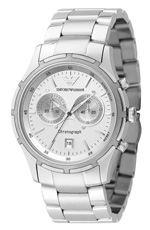 Emporio armani, watch, silver watch