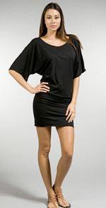 bobi, dress, tunic dress, black dress