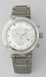 freelock, watch, silver watch, oversized watch
