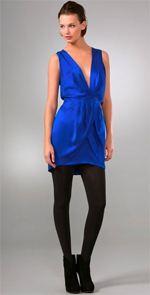 myne, dress, blue dress