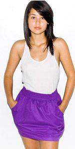 american apparel, skirt, purple skirt