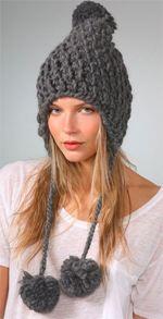 eugenia kim, hat, earflap cap, knit hat