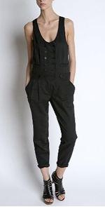 silence & noise, jumpsuit, black jumpsuit, fashion, style