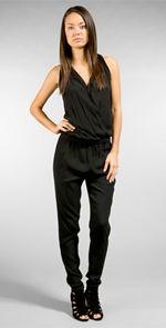 vince, jumpsuit, black jumpsuit, fashion, style
