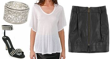 whitney-port-look-4, Whitney port, Fashion, style, Manolo Blahnik, Rebecca Minkoff, Kain Label